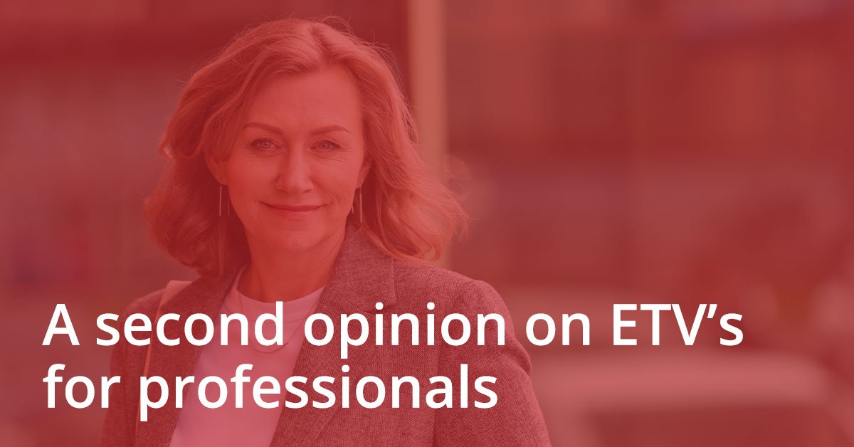 A Second Opinion on ETV's for professionals